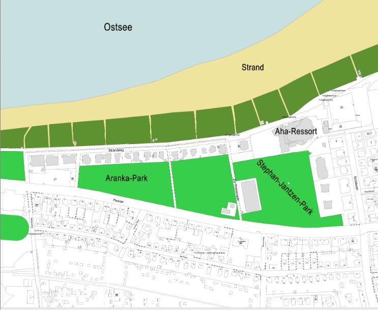 Foto: Karte vom Quartier 7