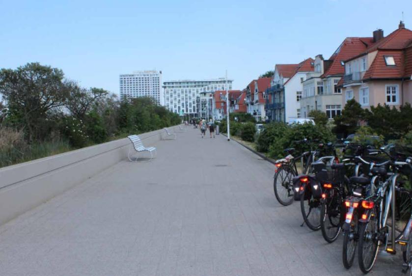 Foto: Strandpromenade entlang Strandweg