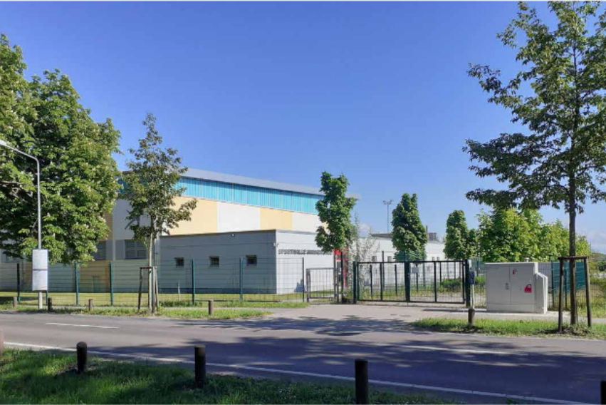Foto: Neue Dreifeldsporthalle Warnemünde