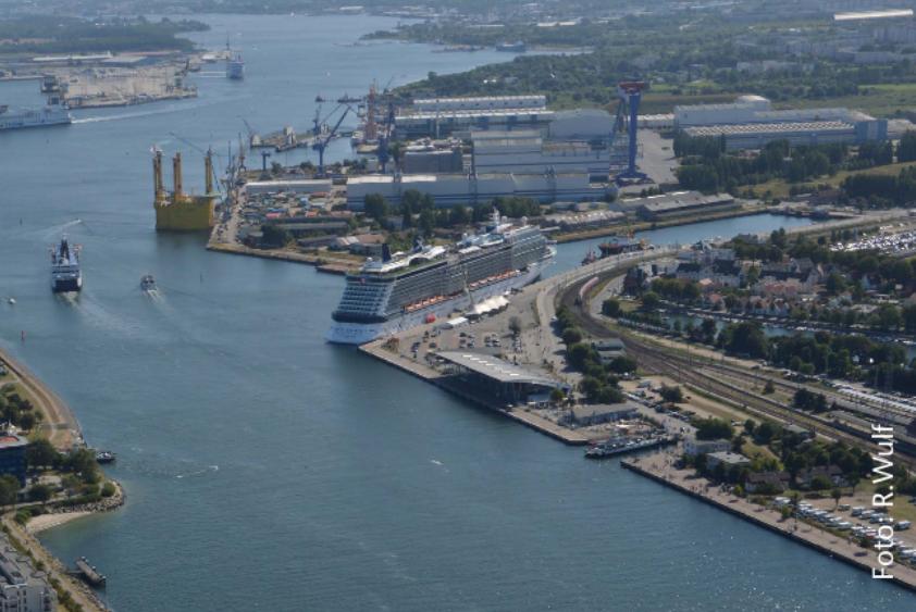 Foto: Luftbild Werftareal