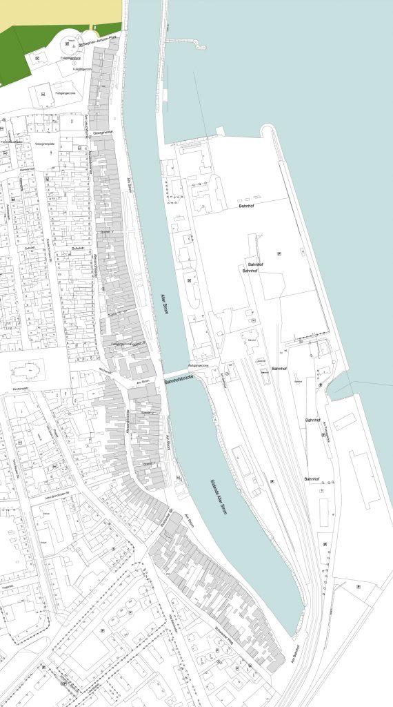 Foto: Karte vom Quartier 1