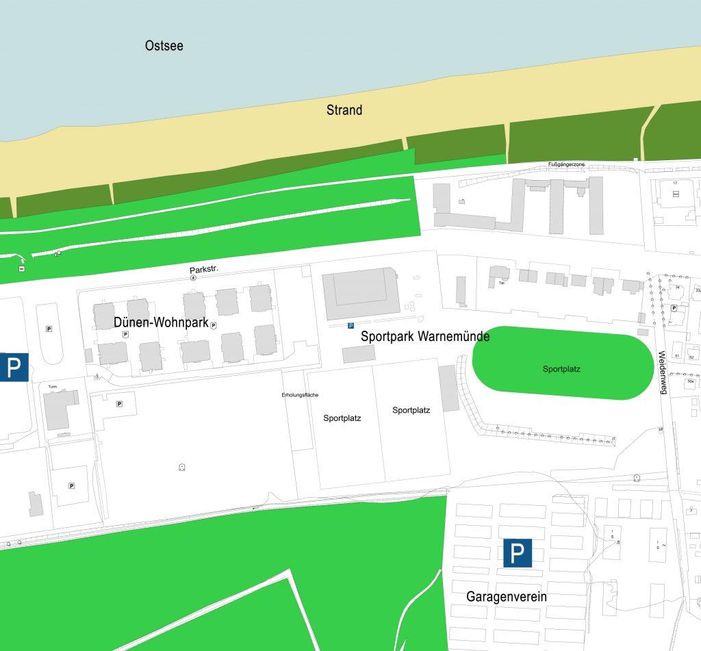 Foto: Karte vom Quartier 10