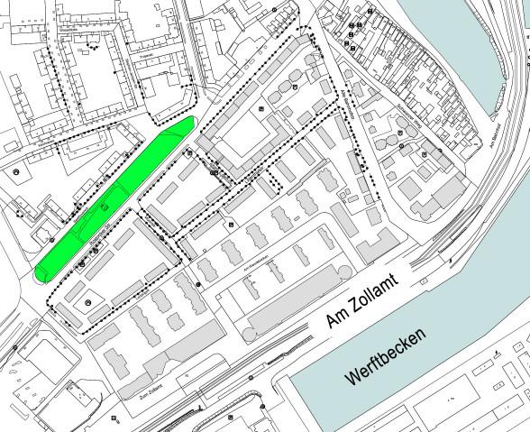 Foto: Karte vom Quartier 4