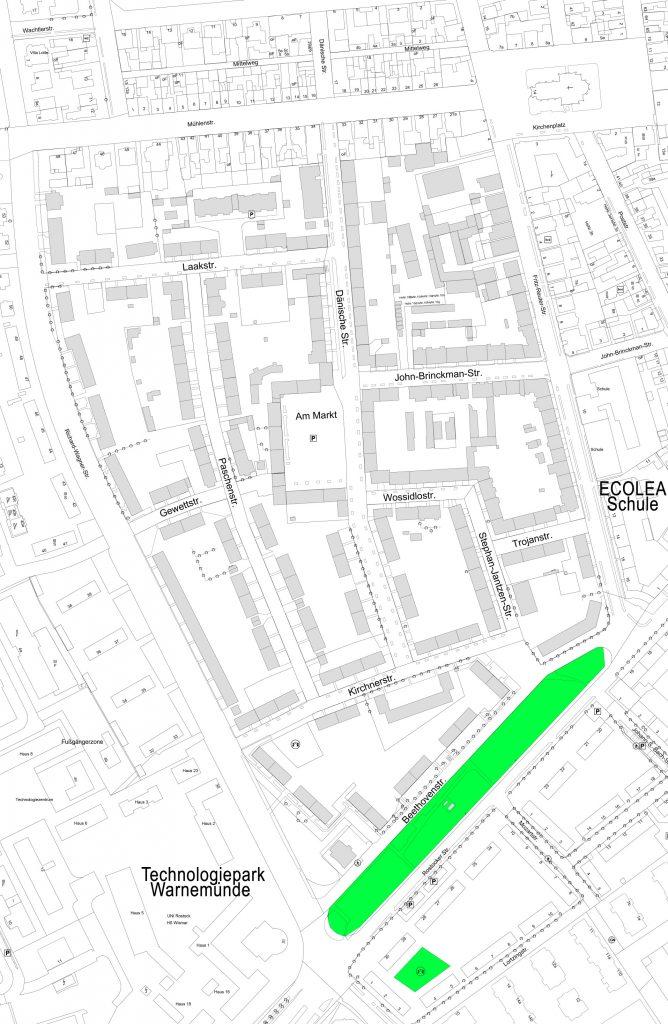 Foto: Karte vom Quartier 6