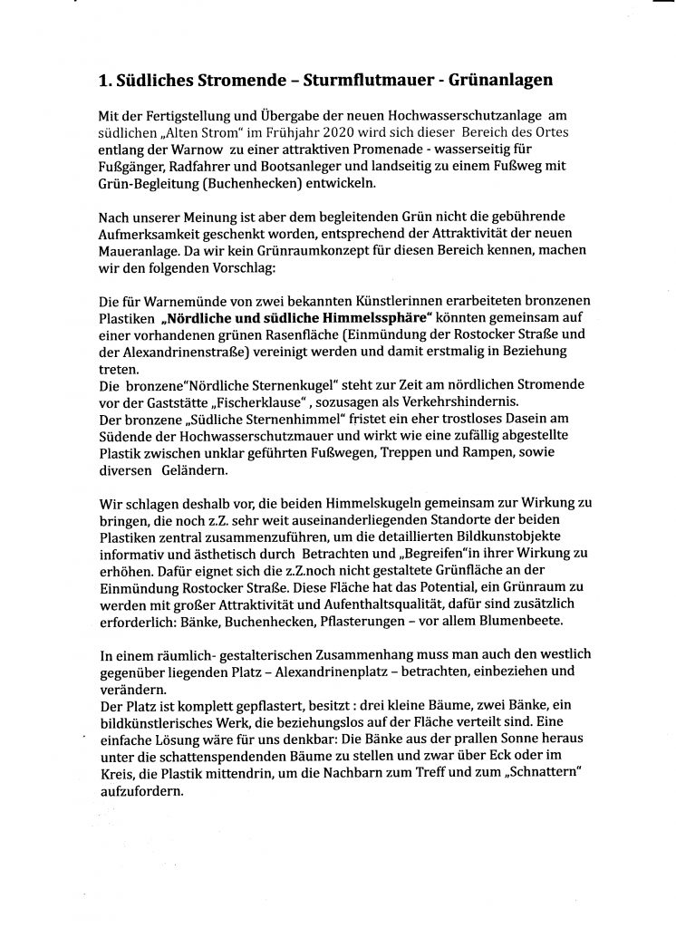 Seite 2: Brief der Familien Z. und S.