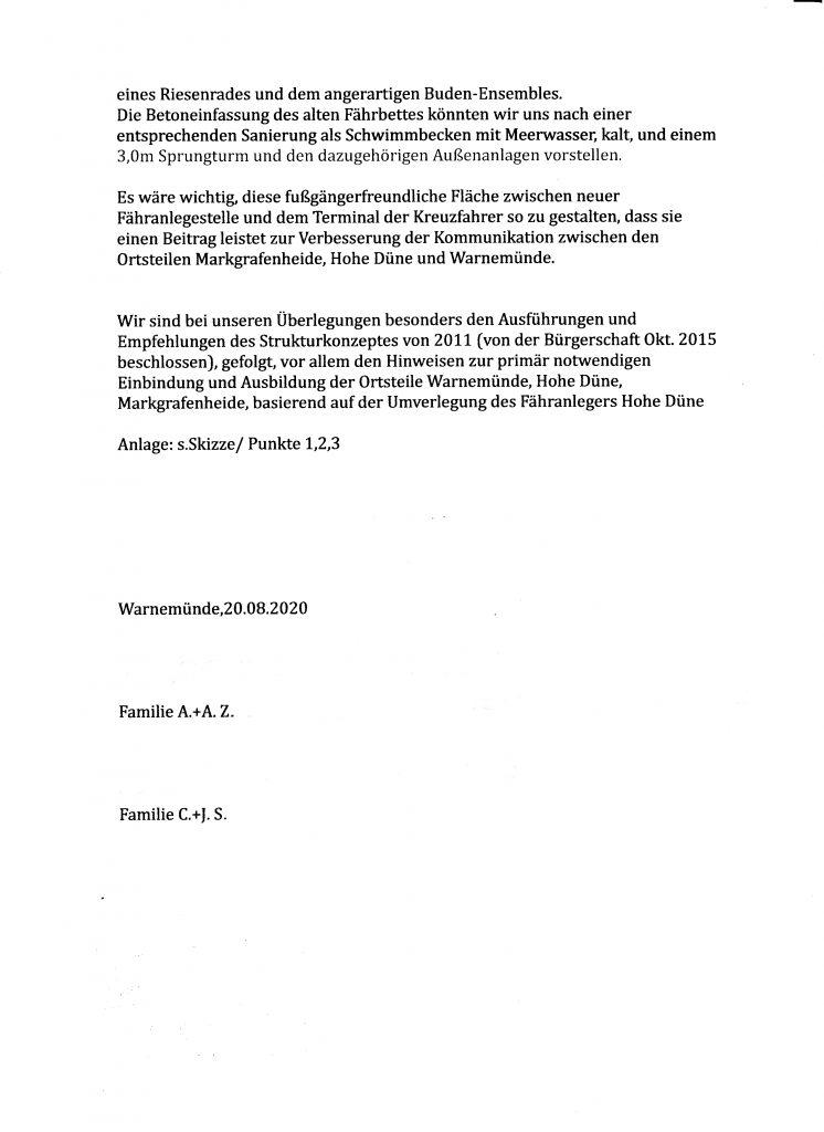 Seite 5: Brief der Familien Z. und S.