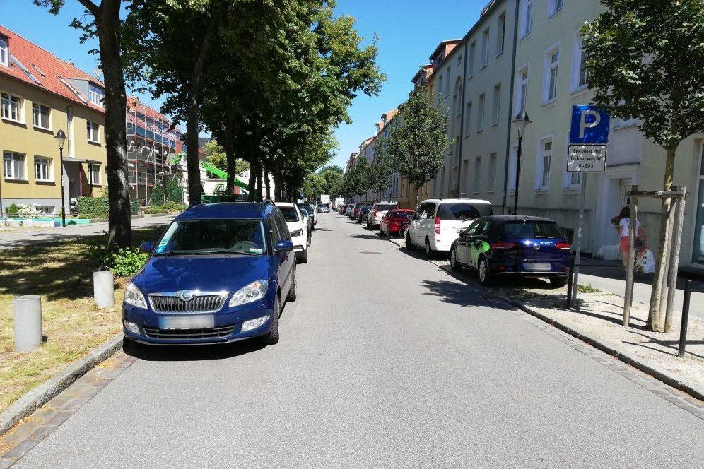 Foto: Straßenraum Dänische Straße