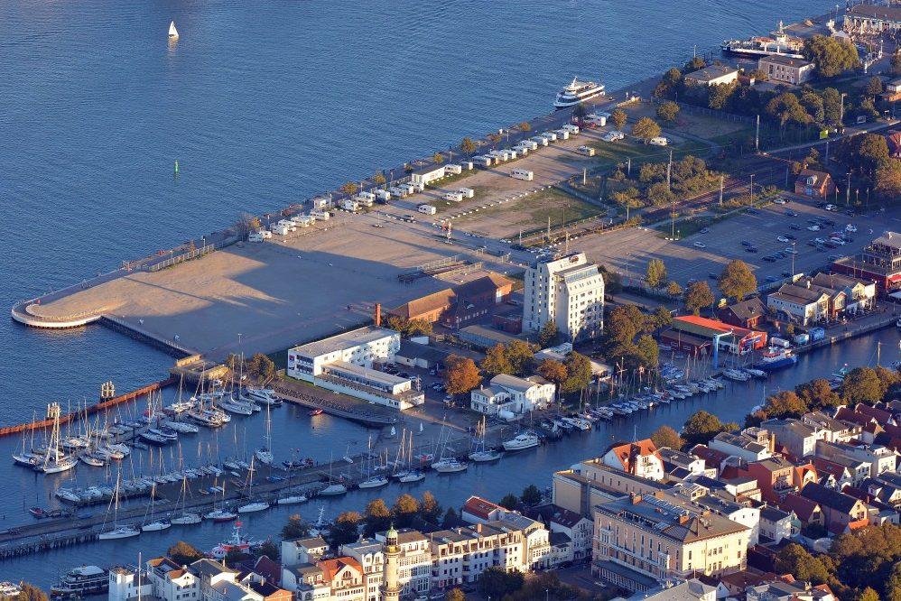 Foto: Luftbild Mittelmole