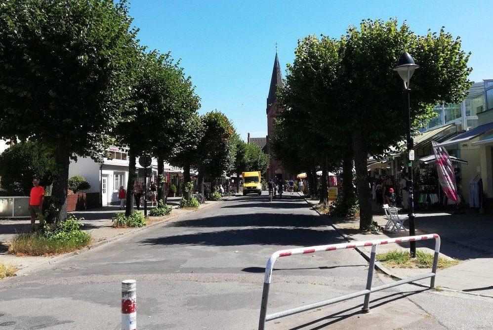 Foto: Straßenraum Mühlenstraße