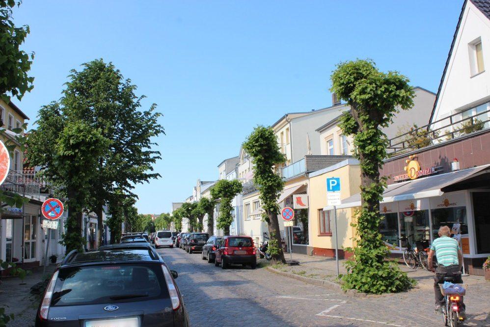 Foto: Straßenraum Friedrich-Franz-Straße