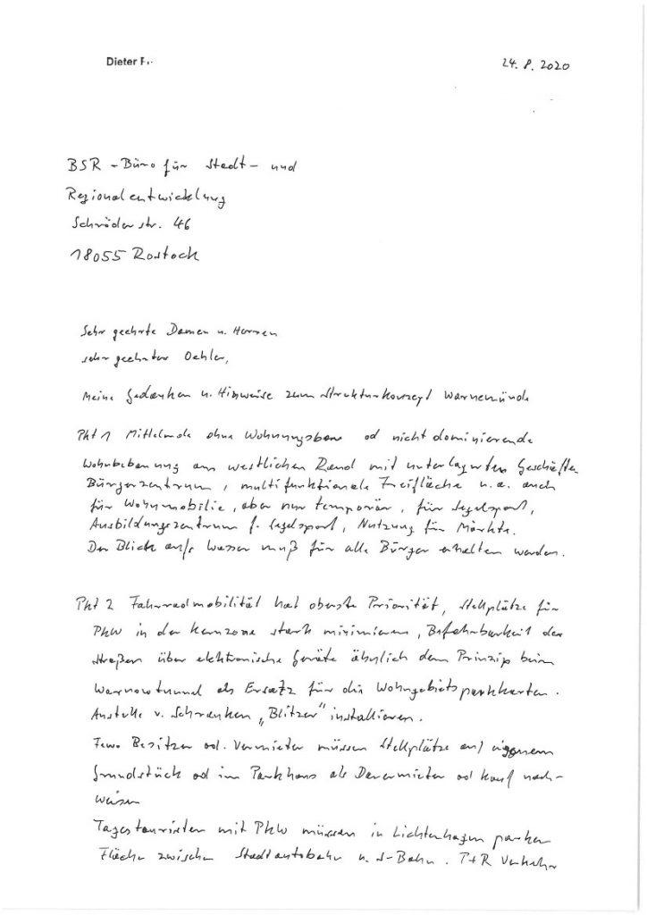 Seite 1: Brief von Dieter F.