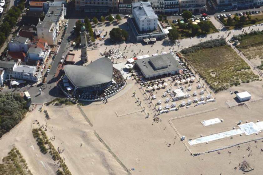 Foto: Luftbild Teepott und Strand