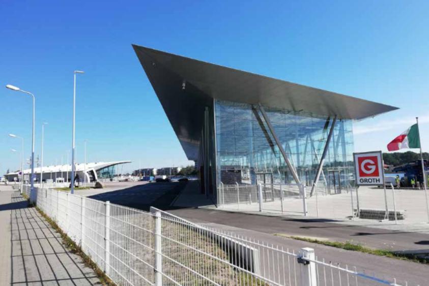 Foto: Kreuzfahrtterminal