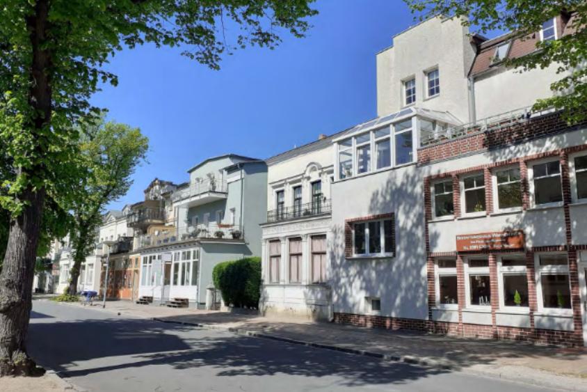 Foto: Bebauung in der Heinrich-Heine-Straße