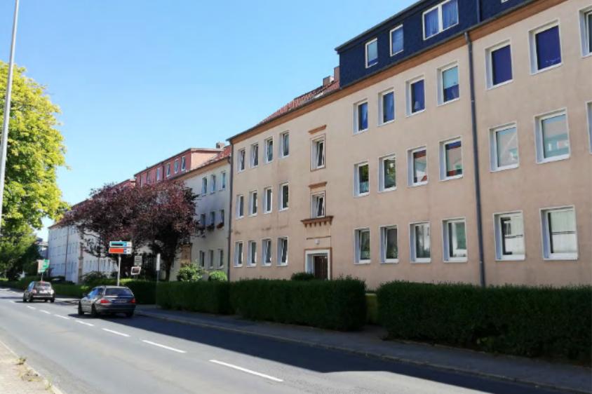 Foto: Bebauung Rostocker Straße