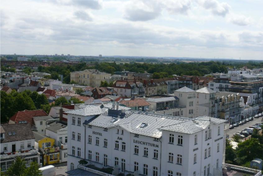 Foto: Luftbild Hotel am Leuchtturm und Umgebung